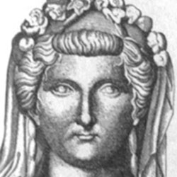 Livia -  Aquarius ABOUT Wife of Emperor Augustus of Rome and great-grandmother of infamous Roman Emperor Nero. She often went by the name of Julia Augusta. BEFORE FAME Her first marriage, to Tiberius Claudius Nero, ended when she and the also-married Octavian (Augustus) fell in love. Her first marriage, to Tiberius Claudius Nero, ended when she and the also-married Octavian (Augustus) fell in love. TRIVIA Over a decade after her death, she was deified as Diva Augusta (The Divine Augusta). Over a decade after her death, she was deified as Diva Augusta (The Divine Augusta). FAMILY LIFE Her son was Emperor Tiberius, and her grandson was Emperor Claudius. Her son was Emperor Tiberius, and her grandson was Emperor Claudius. ASSOCIATED WITH She appears as a Machiavellian character in author Robert Graves' novel I, Claudius. She appears as a Machiavellian character in author Robert Graves' novel I, Claudius.
